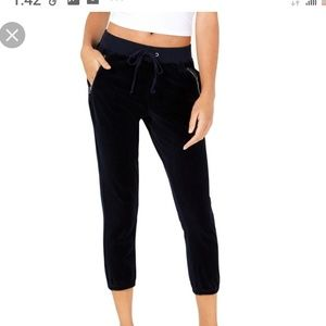 Juicy couture Velvet jogger pants size M